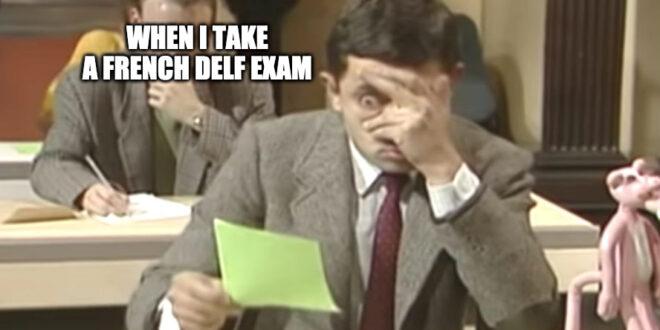 French DELF exam
